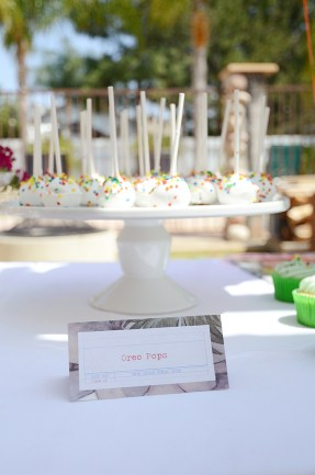 Storybook Baby Shower Oreo Pops