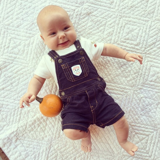 isaiah-5-months-pumpkin