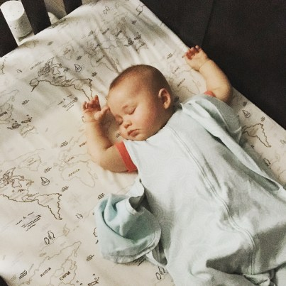 Isaiah 9 Months Nap