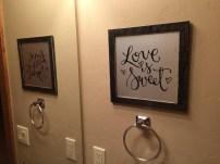 Sam Allen Creates for Hobby Lobby - Love is Sweet -dad