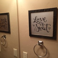 Sam Allen Creates for Hobby Lobby - Love is Sweet -dad