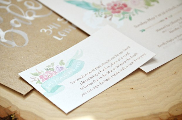 The Adventure Begins Shabby Chic Baby Shower Invitation 4 Tribal Watercolor Wreath