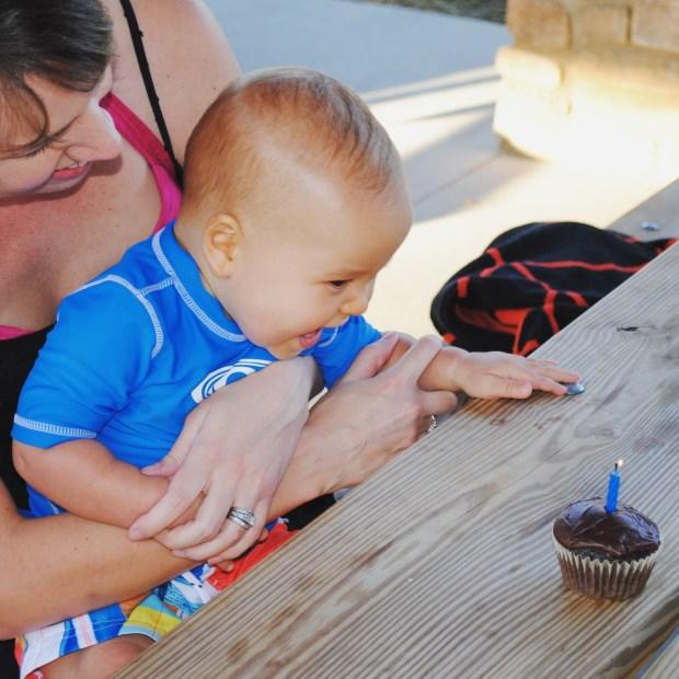 Isaiahs Birthday Cupcake