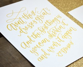 Sam Allen Creates 27 Dresses Handwritten Movie Quote
