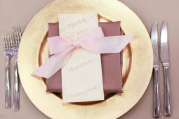 Sam Allen Creates, Handwritten reception menu. Photo by amalie orrange photography detail