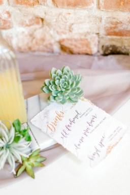 Sam Allen Creates - Estate on Second Wedding Styled Shoot, by Harper Grace Photography 291 drinks menu