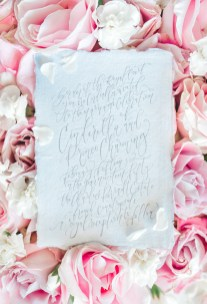 Sam Allen Creates - Disney Inspired Cinderella Wedding Invitation - Invitation Detail