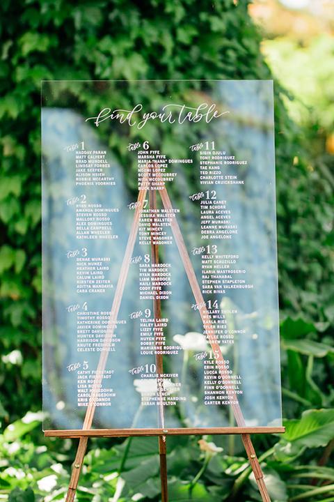 Sam Allen Creates Acrylic Seating Chart, photo by LerinaWinter-8975