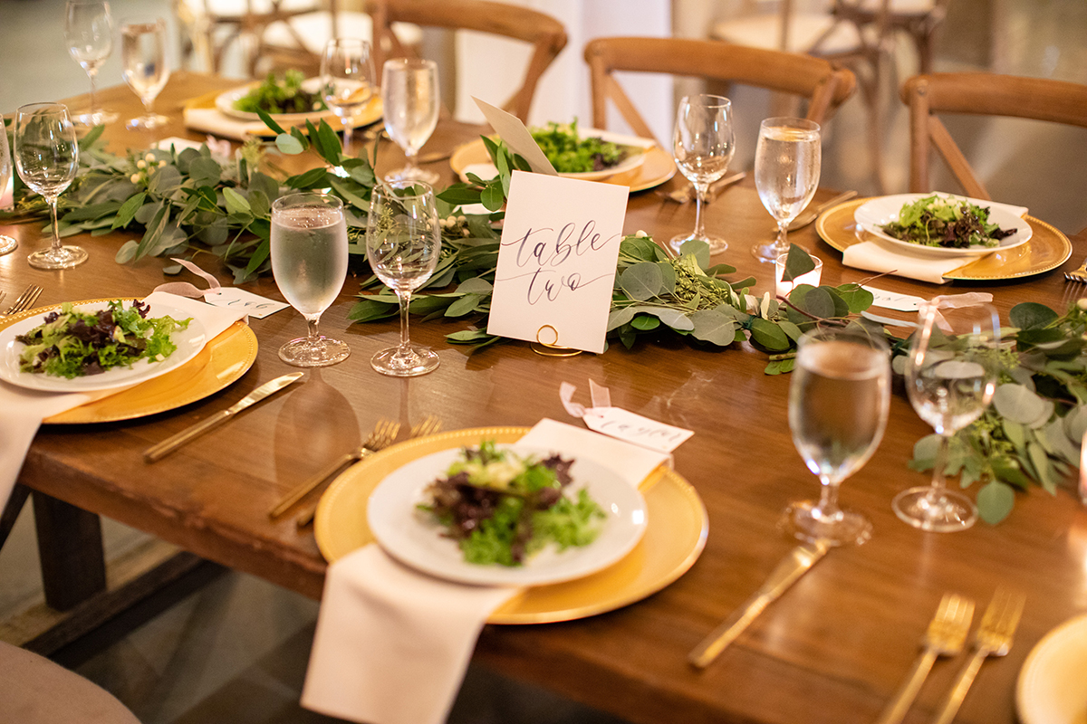 AaronWatsonPhotography – Watercolor Table Numbers and Placecard tags by Sam Allen Creates