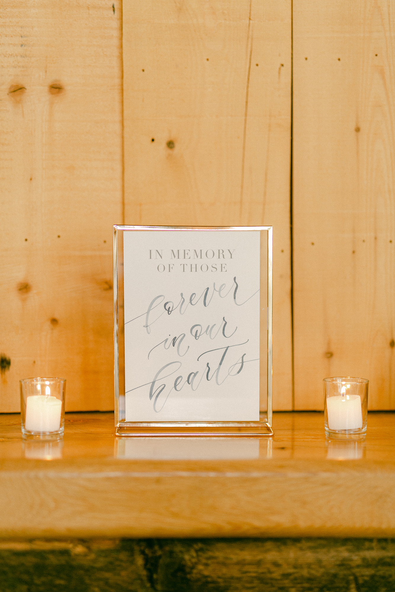 Emily+Brett_Ryland Inn Sam Allen Creates Custom Watercolor Sign In Memory of those Forever in our Hearts