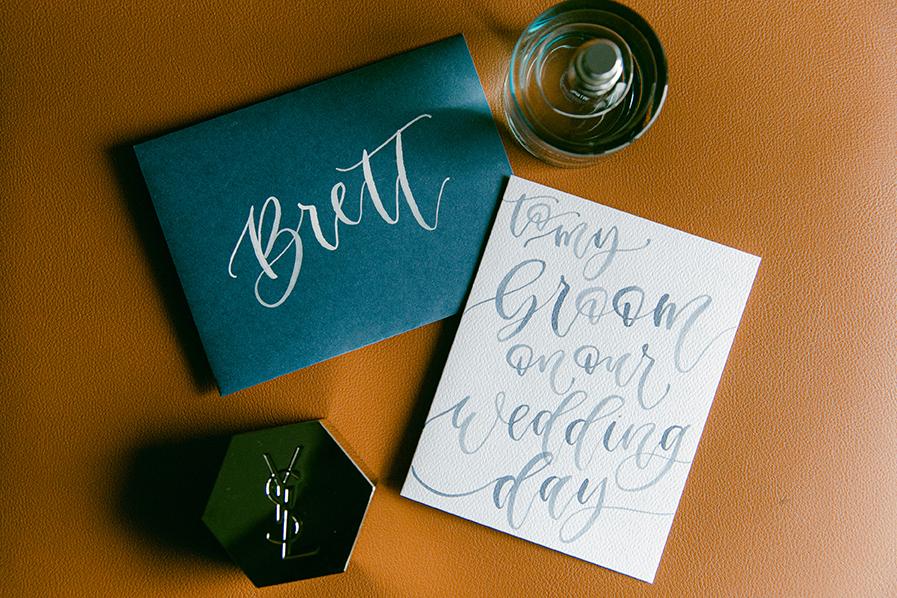 Emily+Brett_To My Groom on My Wedding Day card by YourNewFriendSam