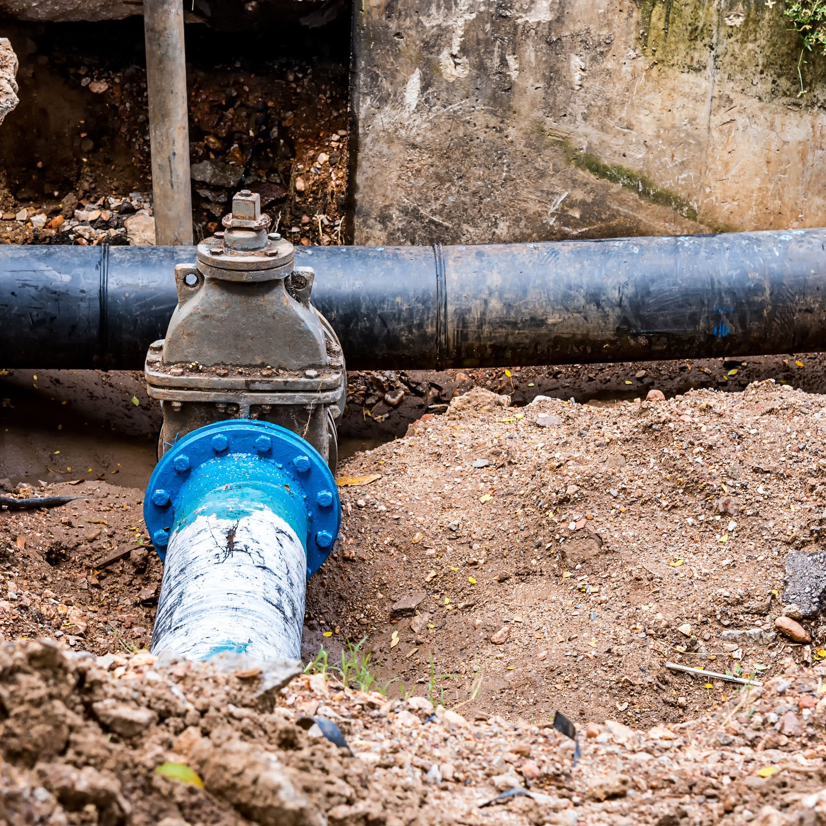 sewer line repair in Centreville