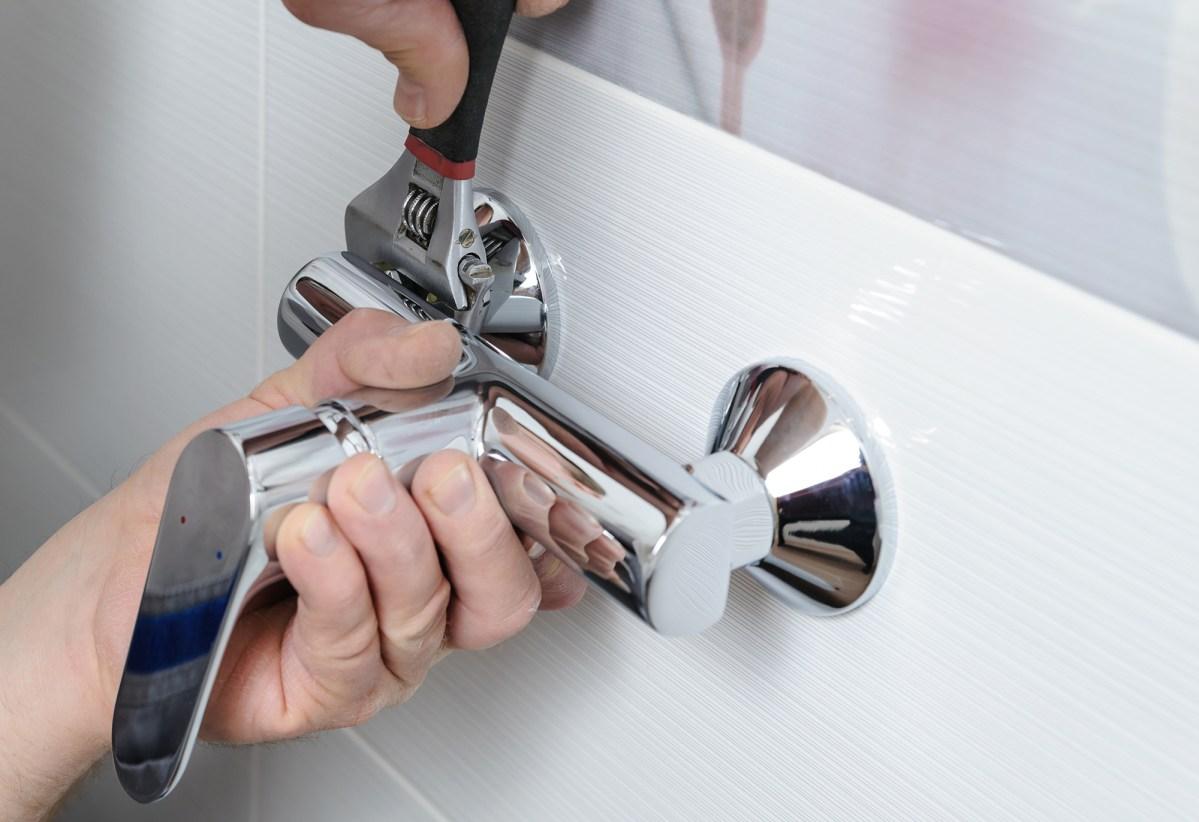 Installing a shower faucet