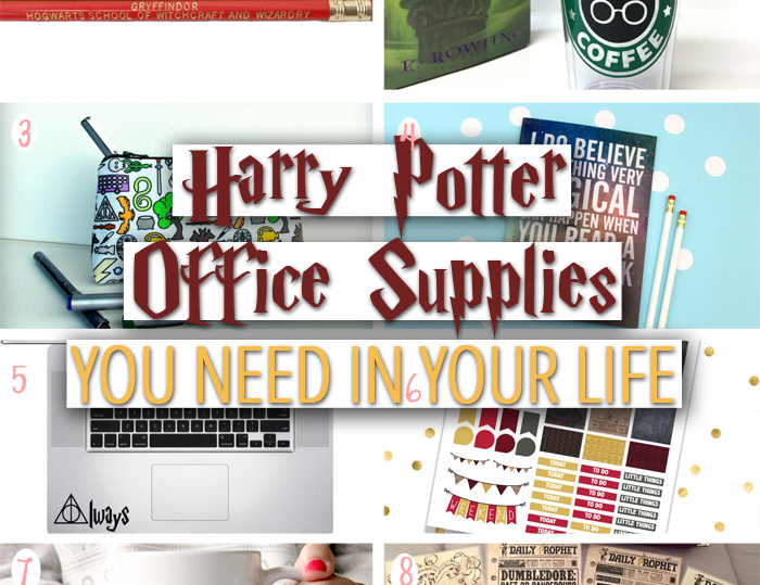 Harry Potter Is Quite Possibly My Favorite Thing Ever. Office Supplies Is A  Close Second. Ever Since I Was Little Iu0027ve Enjoyed Hoarding Office Supplies.