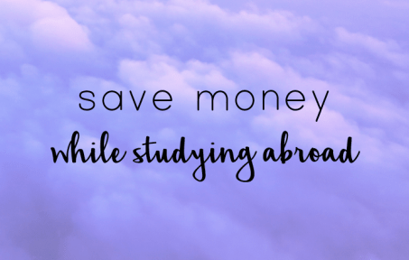 Save money studying abroad