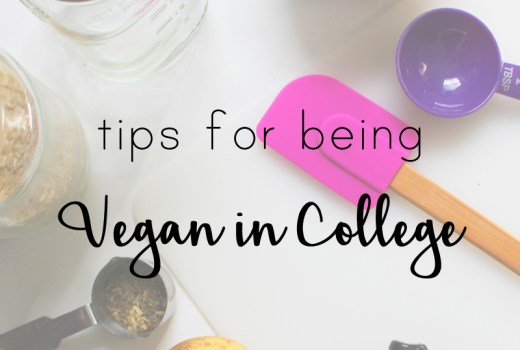 vegan in college