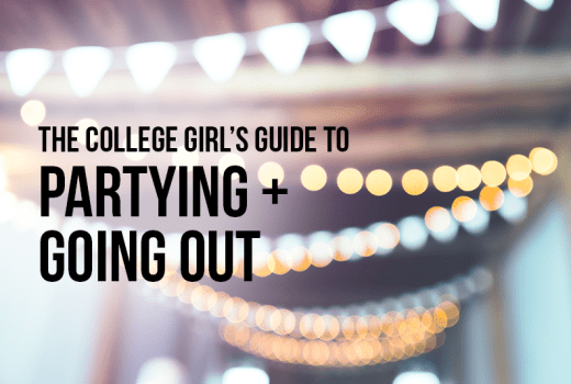 college girl's guide to partying