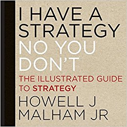 book cover for I have a strategy no you don't