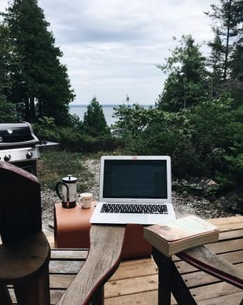 Writing on Manitoulin Island