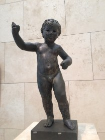 A statue of Cupid?