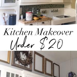cheap kitchen makeover