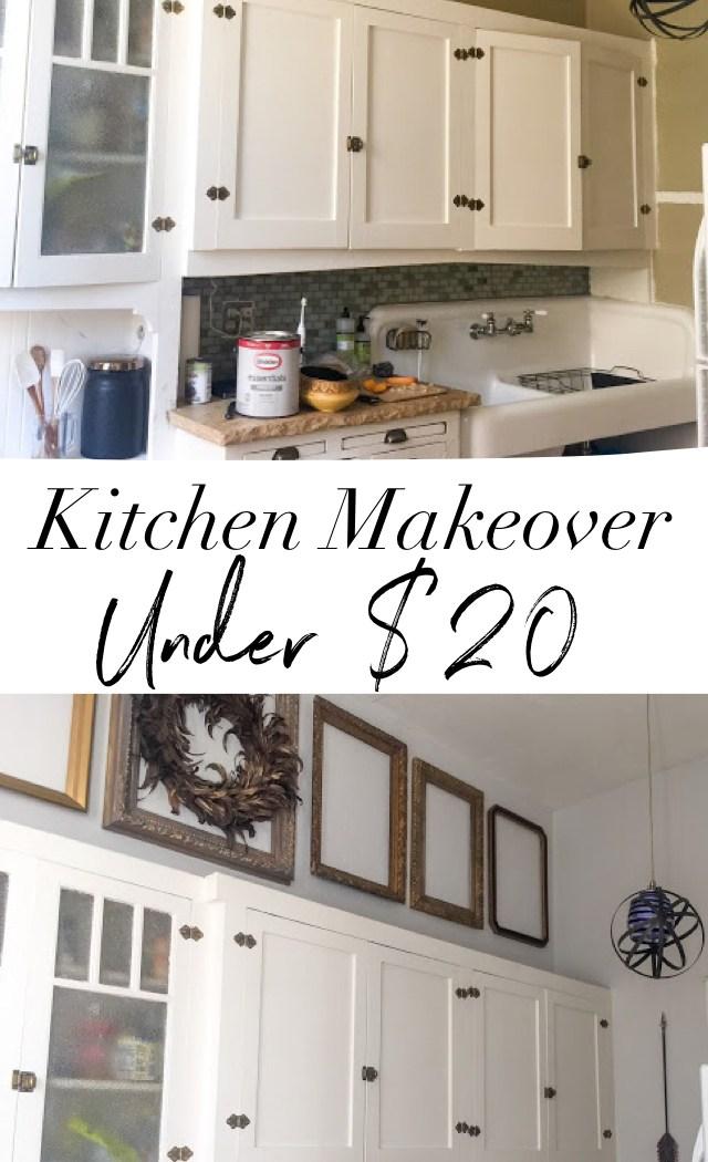 Cheap Kitchen Makeover Under $20
