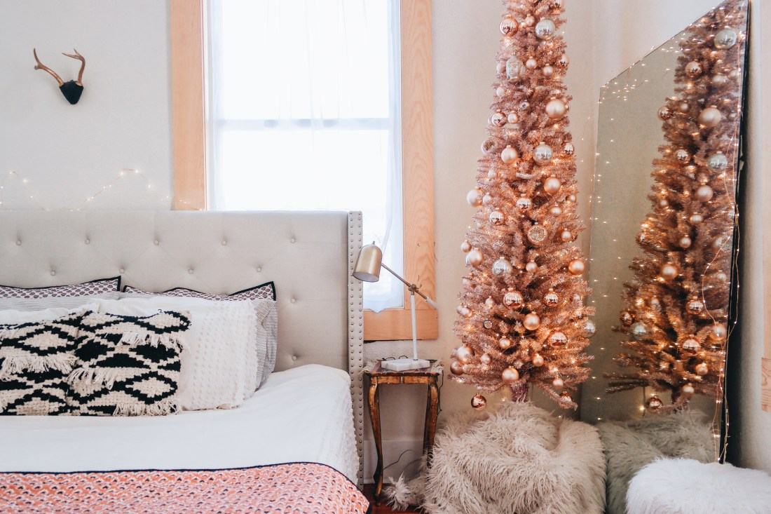 Rose Gold Christmas Tree