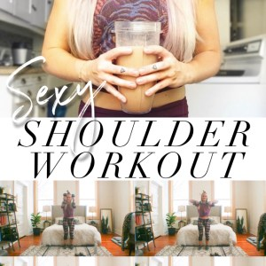 home shoulder workout