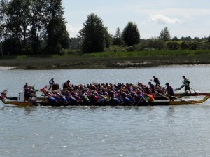 Racing on the Fraser River