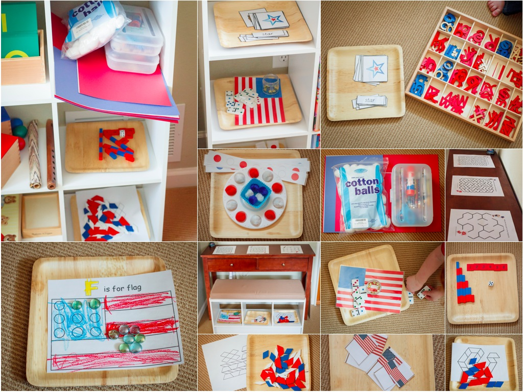 Fourth Of July Week {introducing our trays}