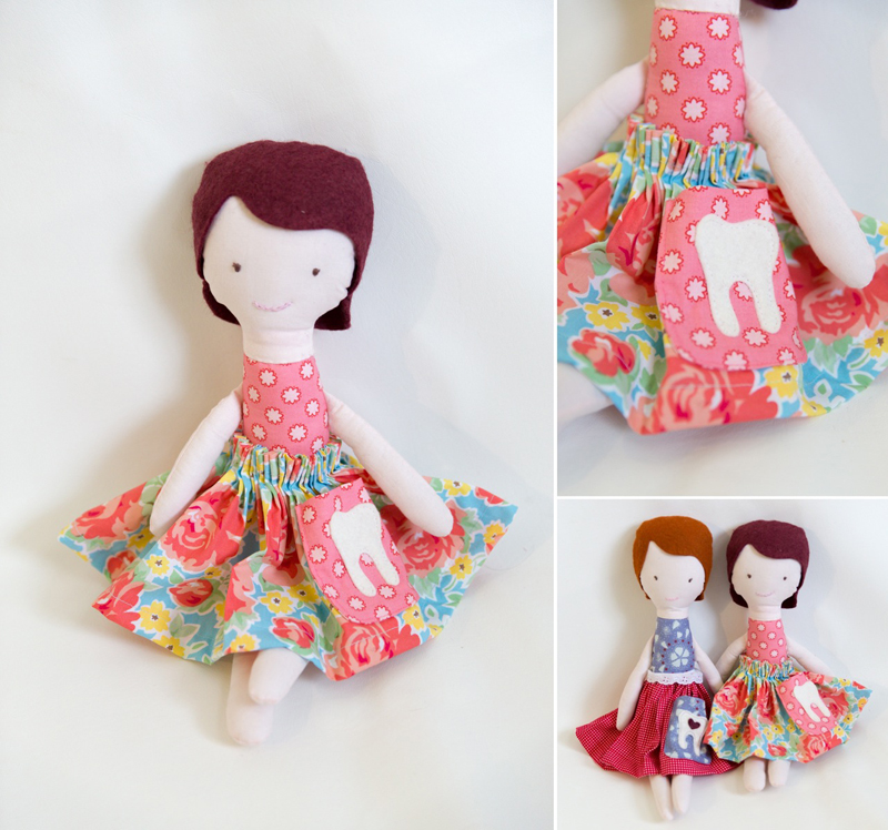 Tooth Fairy Doll – Free Tutorial and Pattern