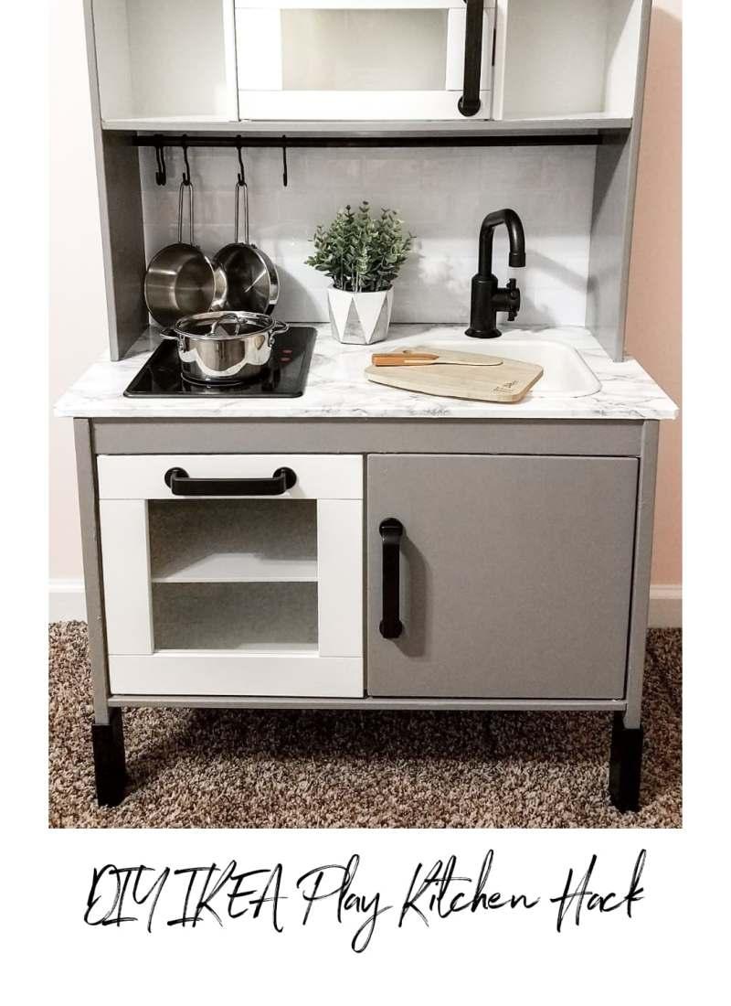DIY Ikea Play Kitchen Hack