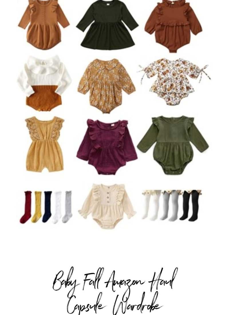 Baby Girl Amazon Fall Capsule Wardrobe