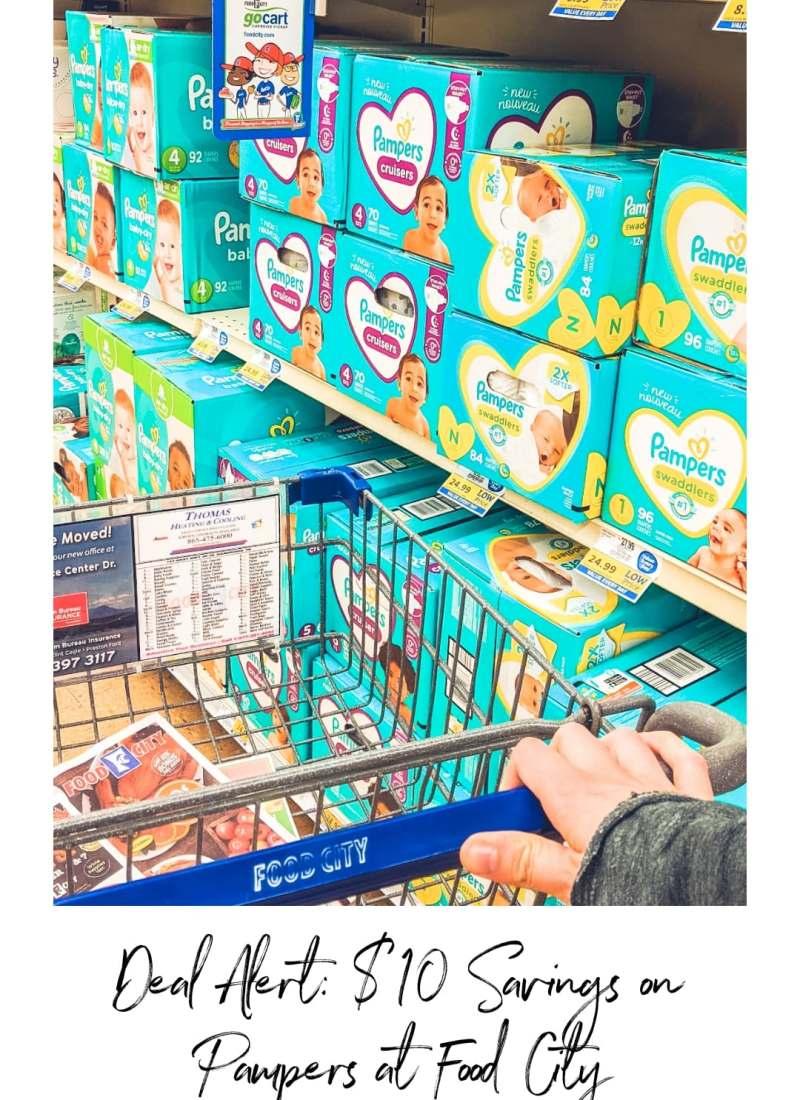 Deal Alert: $10 Savings on Pampers at Food City!