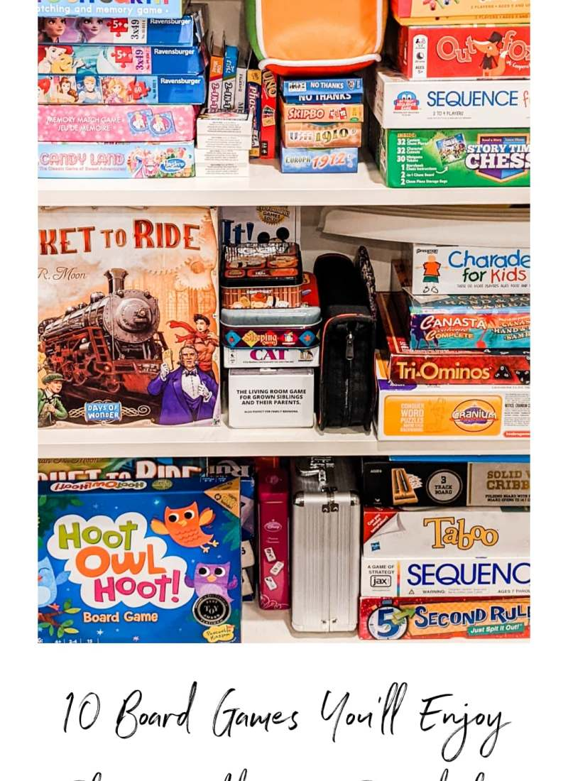 10 Board Games / Card Games You'll Actually Enjoy Playing with your Preschooler