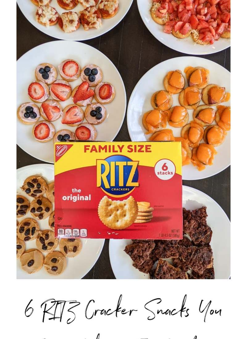 6 RITZ Cracker Snacks You Can Make in 5 Minutes