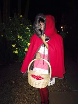 Hey there Little Red Riding Hood