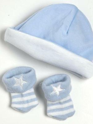 Hat/Sock Set - Blue