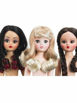 Three's a Charm Wig Pack by Madame Alexander