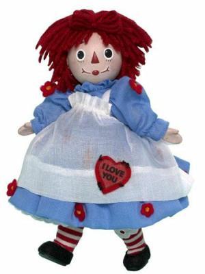 I Love You Raggedy Ann (Porcelain)