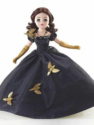 """Scarlett O'Hara in the """"Love Bird Dress"""""""