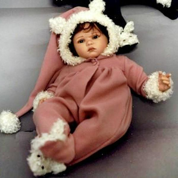 Witta, Vinyl Doll by Ruth Treffeisen