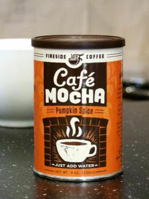 pumpkin spice cafe mocha