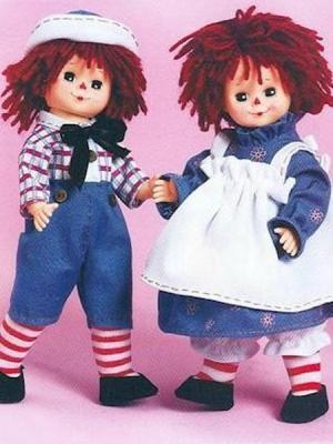 Raggedy Ann & Andy Doll Classic Edition Set