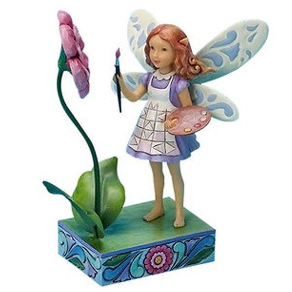 artist fairy figurine