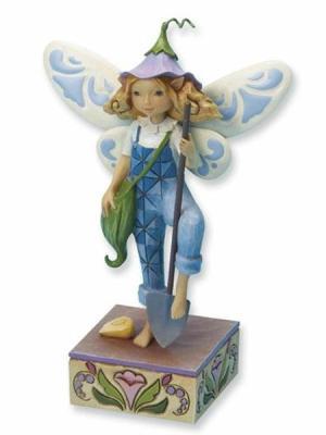 Gardening Fairy Figurine