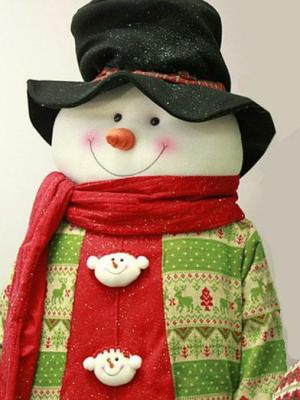 6' Holiday Snowman
