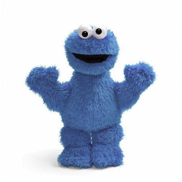 "Sesame Street Cookie Monster 15"""