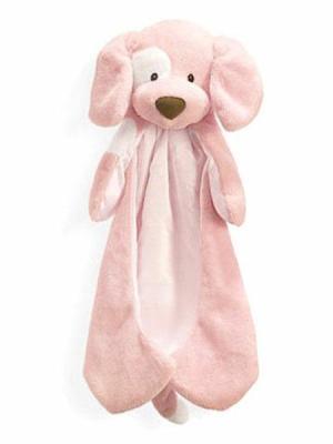 Spunky Huggybuddy Dog, Pink
