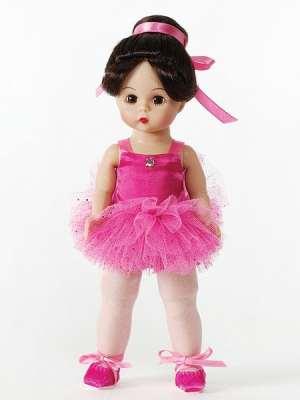 Pirouette in Pink Brunette